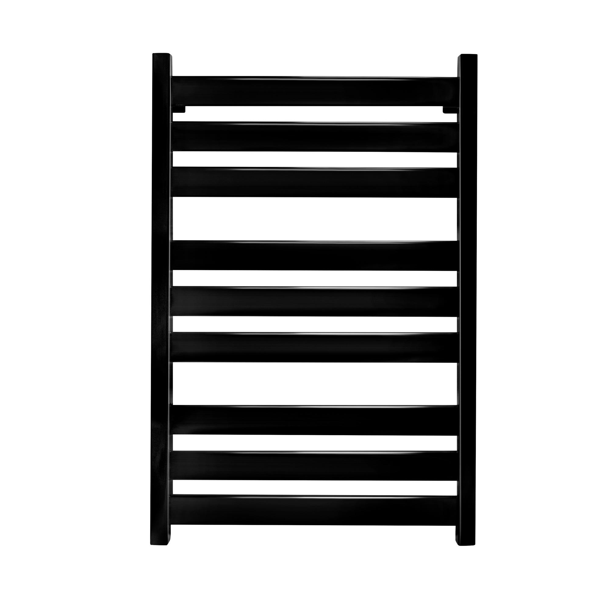 Полотенцесушитель Energy Style 800x500 черный янтарь (RAL 9005)
